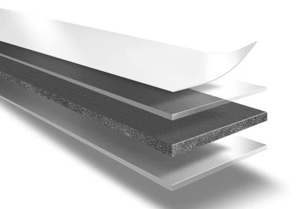 двустороння лента ломанн на полиэтиленовой основе